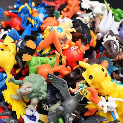 24/144pcs Pokemon Toy Set Mini Action Figures Pokémon Go Monster Gift 2-3cm LOT
