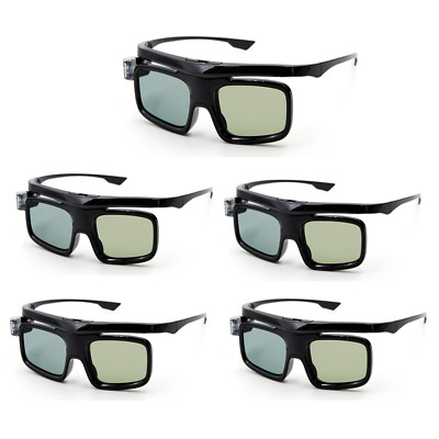 3D Glasses Active Shutter For DLP-LINK Projector Rechargeable Acer Dell L8H3