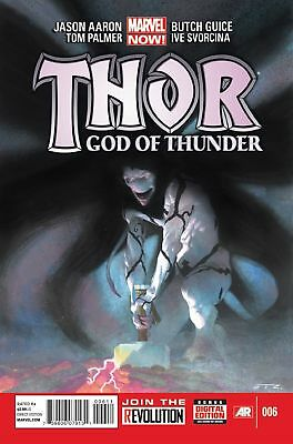 Thor God of Thunder #6 (First Appearance of God Symbiote/Necrosword - Venom #4)