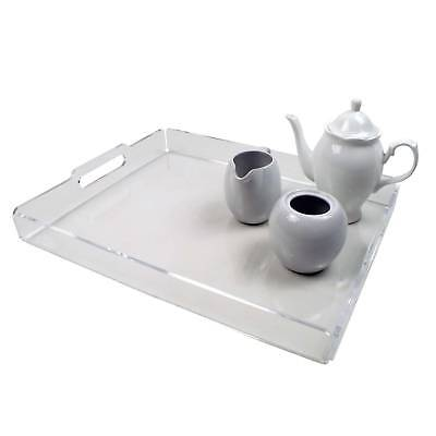 Acrylic Serving Tray, Counter Top, Cafe, Bar, Home (DS72/C, DS70/C)