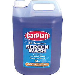 All Seasons Pre Mixed Screen Wash 5L Carplan Professional Washes for Windscreens