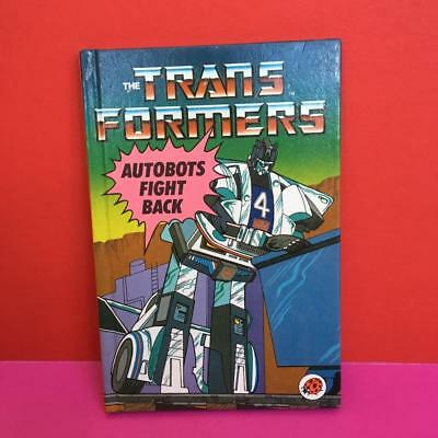 Vintage Ladybird Transformers Toy HB Story Comic Book Autobots Fight Back 1980s