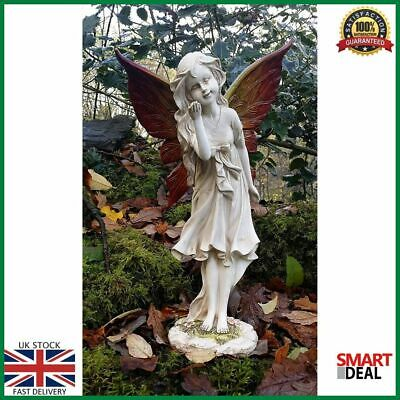Large Magical Fairy Outdoor Garden Ornament Stone Effect Figurine Angel Statue