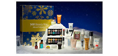 NEW ~ YOU BEAUTY BOX ~ Advent CALENDAR 2016 ~ RRP £270+ ~ SEALED