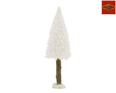 LUVILLE BRISTLE TREE ON LOG WHITE H15xD4 1015165