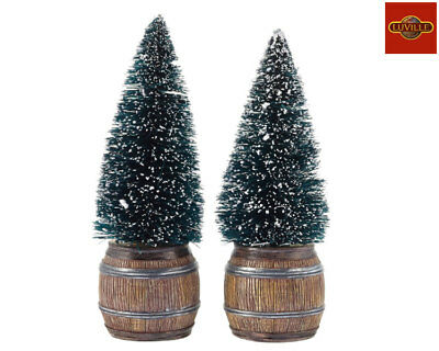 Luville Christmas Tree In Barrel Set Of 2 612049