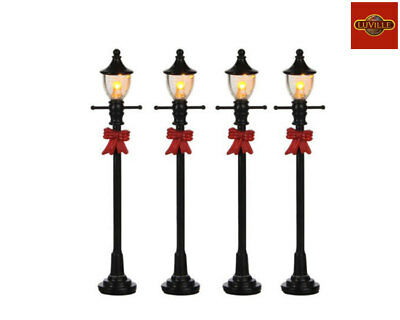 Luville Gas Street Lantern Set Of 4 605127