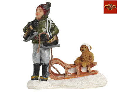 Luville Frank With Teddy On The Sledge 608250