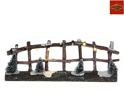 Luville Fence Lighted 612115