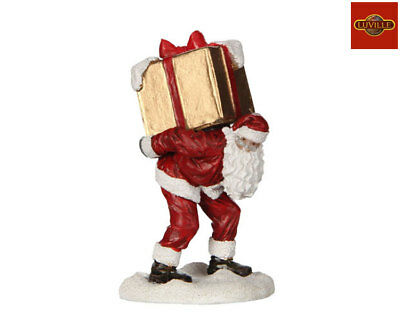 Luville Santa With Big Present 609116