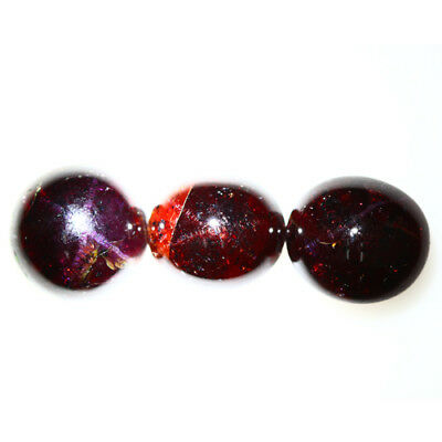 33.410 Ct Exclusive Brilliant! 100% Natural Top Red Garnet Star Unheated Cab !!!