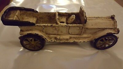 Antique VINTAGE Cast Iron Coupe Car Toy , Great Condition, 1930's ?