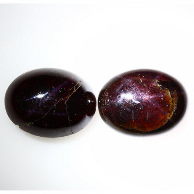 26.700 Ct Exclusive Brilliant! 100% Natural Top Red Garnet Star Unheated Cab !!!