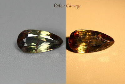 0.800 Ct  Earth Mined Unique Dazzling 100% Natural Dancing' Color Change Axinite