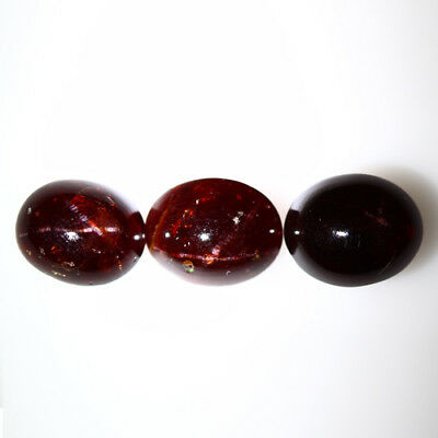 21.265 Ct Exclusive Brilliant! 100% Natural Top Red Garnet Star Unheated Cab !!!