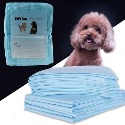 Pet Pad Diaper Housebreaking Underpads Pads Dog Puppy Pee Training Diapers 100pc