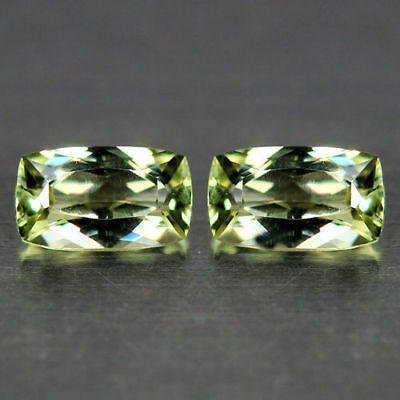1.83Cts~Flawless Matching Pair~100 % NATURAL COLOR CHANGE  DIASPORE_TURKEY