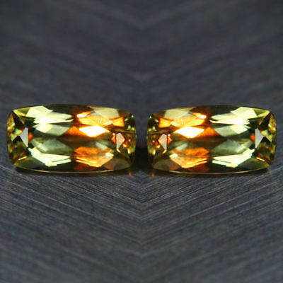 1.64 Cts_WOW ! FLAWLESS_MATCHING PAIR_100 % NATURAL COLOR CHANGE DIASPORE_TURKEY