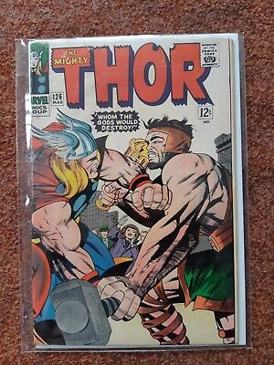 Thor 126 1St In Own Title - Classic Hercules Battle - Fine+