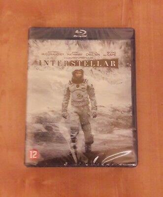 Blu-Ray Interstellar 2-Disc set New sealed