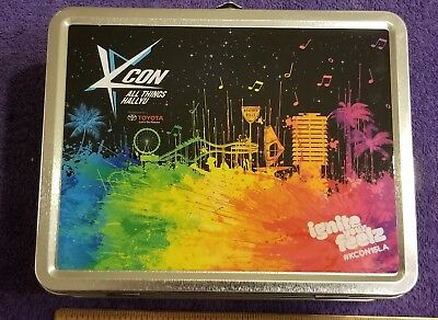 KCON USA All Things Hallyu Metal Lunchbox with Stickers