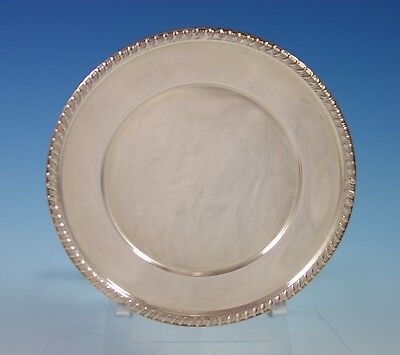 Empire Sterling Silver Bread and Butter Plate Gadroon Style Border (#2746)