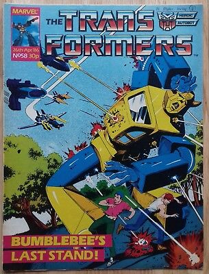 Transformers UK Comic Issue 58