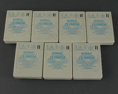 Lot of (7) Omega Nomad Dataloggers for Temperature & Humidity Measurement