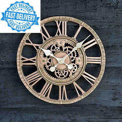 Outside in Design Newby Mechanical Clock, Bronze