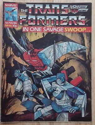Transformers UK Comic Issue 46
