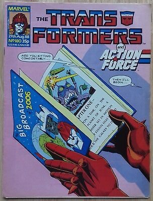 Transformers UK Comic Issue 180