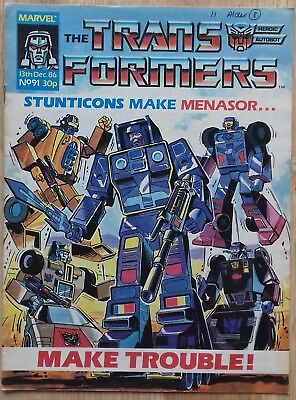 Transformers UK Comic Issue 91