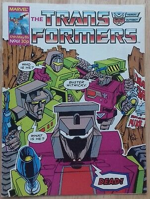 Transformers UK Comic Issue 61