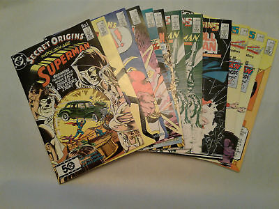 SECRET Origins #1-23 #38 and Annual #1 VF+ or better Most NM