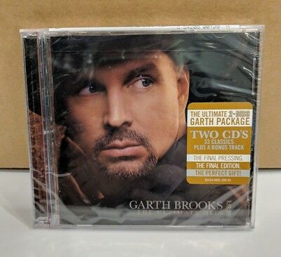 Garth Brooks: The Ultimate Hits, New CD Compact Disc Free Shipping