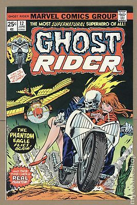 Ghost Rider (1st Series) #12 1975 FN+ 6.5