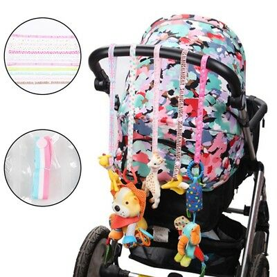 1PC Toys Fixed Stroller Accessory Strap Holder Bind Belt Toy Baby Anti-Drop AU