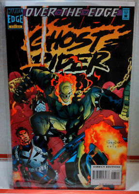 GHOST RIDER (1990) #65 Marvel Comics UNREAD VERY FINE 1st Print PUNISHER VF
