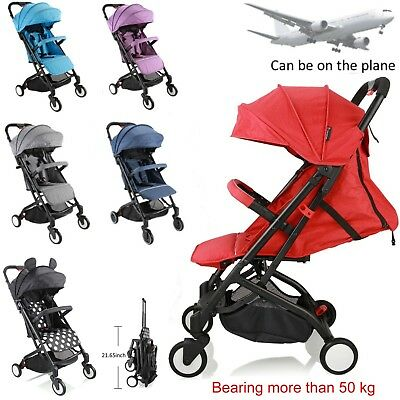 Lightweight Baby Toddler Stroller Jogger Pram Compact Fold Travel on Plane -AU