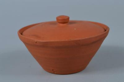 K6898: Japanese Tokoname-ware Brown pottery TEA POT Houhin Sencha, Shinzan made