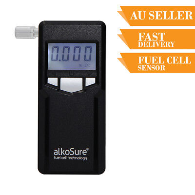 Portable Breathalyser Alcohol Tester Breath Test ALKOSURE F16 Personal Fuel Cell