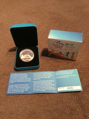 2009 World Masters Games, Sydney, 1oz Silver Proof Coin