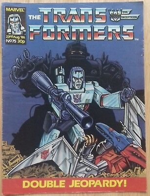 Transformers UK Comic Issue 75