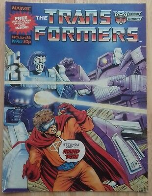 Transformers UK Comic Issue 65