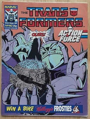 Transformers UK Comic Issue 182