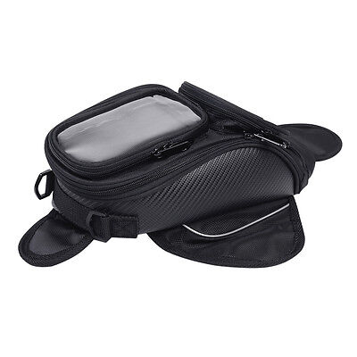Waterproof Universal Magnetic Motorcycle Oil Fuel Tank Shoulder Sling Bag Travel
