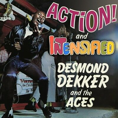 Dekker, Desmond and The Aces - Action / Intensified CD (2) Cherry Red NEU