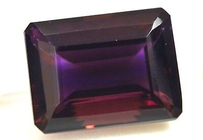 40.15 Ct Natural Dark Yellow & Purple Untreated AAA+ Ametrine AGSL Certified Gem