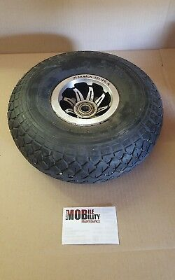 monarch  sprint mobility scooter Front Wheel With Sold Tyer Puncture Proof