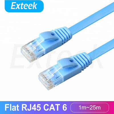 5m 10m 15m 20m 25m 30m Ethernet Network Lan Cable CAT6 1000Mbps